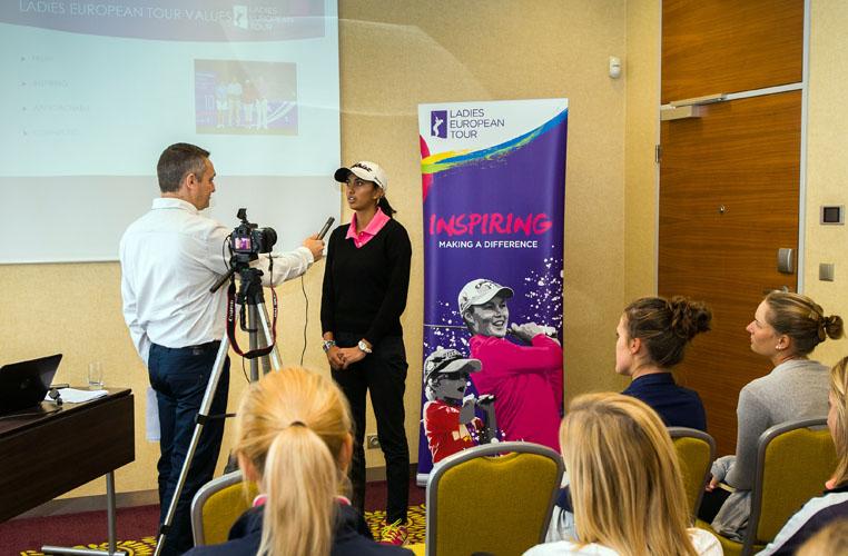 16/06/2016. Ladies European Tour 2016. Tipsport Golf Masters, Golf Park Pilsen, Dýšina, Czech republic. June 17-19. Richard Kaufmann during the rookie training . Credit: Tristan Jones