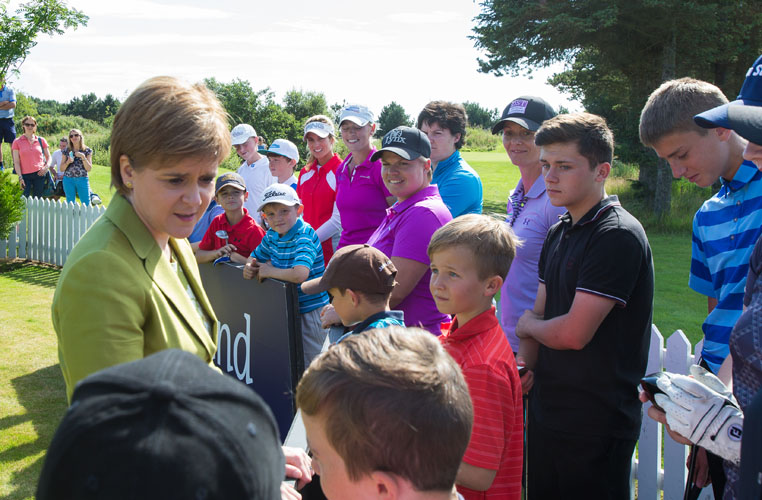 21/07/2016. Ladies European Tour 2016. Aberdeen Asset Management Ladies Scottish Open, Dundonald Links, Irvine, Scotland. 22-34 August. . Credit: Tristan Jones