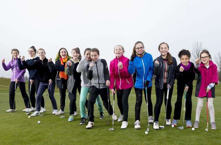 Girls Golf Rocks Bedfordshire Credit: Leaderboard Photography