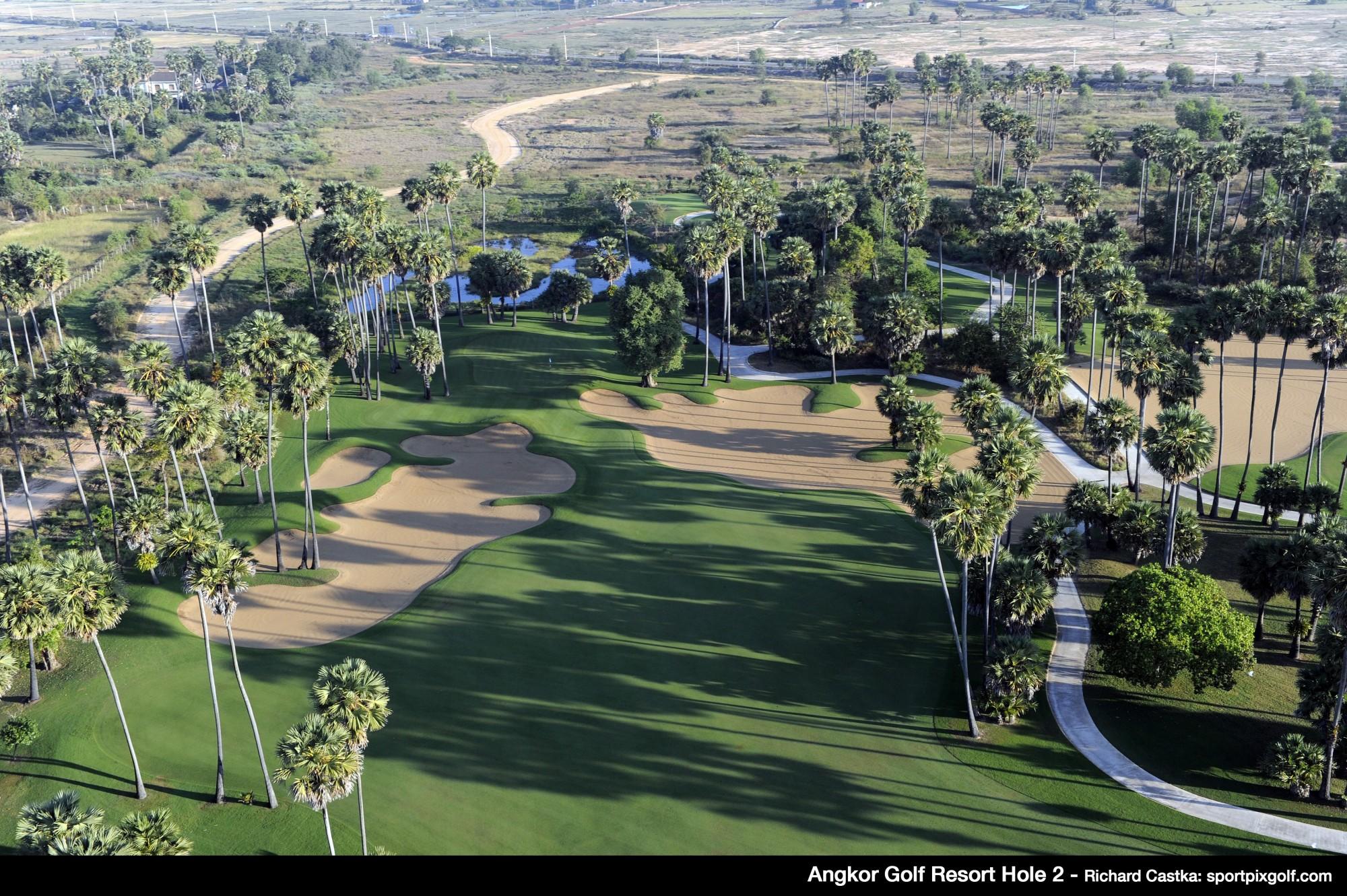 Angkor Golf Resort hole 2