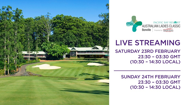WATCH LIVE: Final Two Rounds of the Australian Ladies Classic
