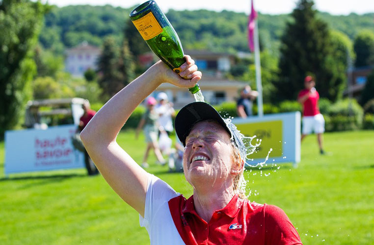 Astrid Returns to Scene of Life-Changing Victory - Ladies European Tour