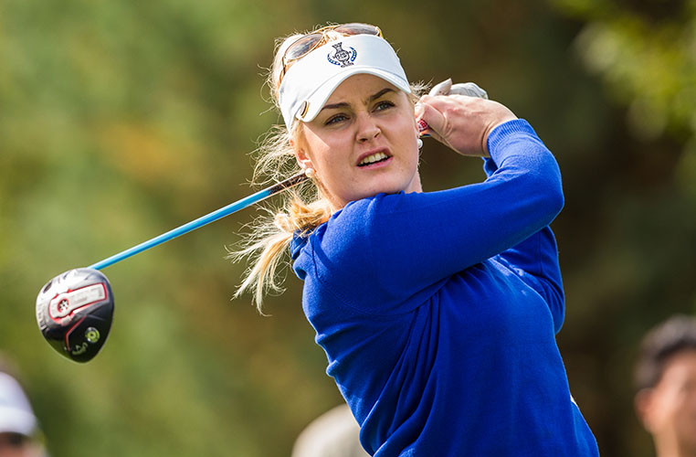 005ca6af Solheim Cup Q&A with Charley Hull