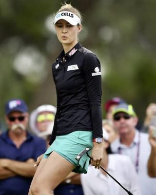 køb godt officielle billeder top design Nelly Korda commits to Lacoste Ladies Open de France ...