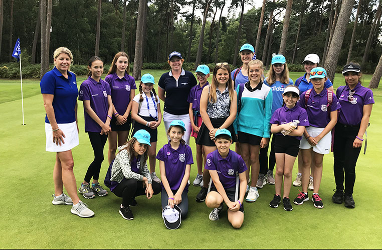 Second Women and Girls' Week Achieves Engagement and Activity - Ladies European Tour