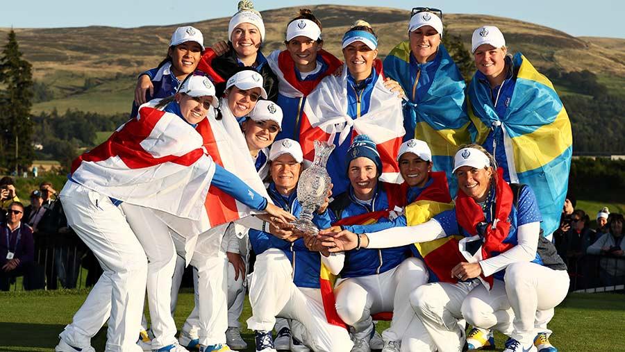 Europe's Solheim Cup victors crowned Team of the Year - Ladies European Tour