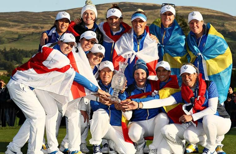 Europe's Solheim Cup Victors Crowned Team Of The Year