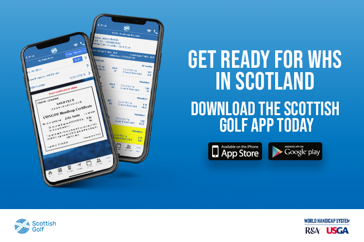 Ad - Scottish Golf App
