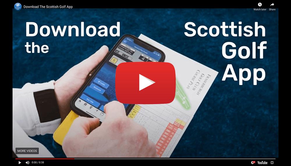 Watch Scottish Golf App Video